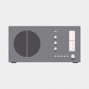 RT 20 tischsuper radio, 1961, by Dieter Rams for Braun